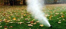 Lawn Sprinkler Winterization