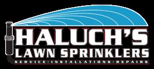 haluchs lawn sprinklers logo